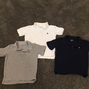 Boys size 4 collar shirt bundle (baby gap)